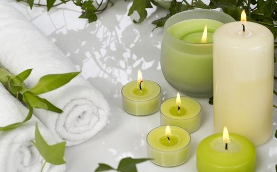 Ароматические свечи для дома