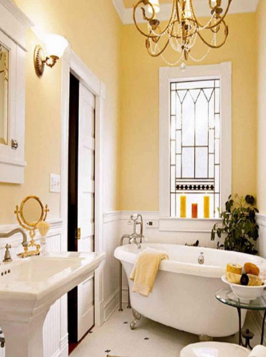 золотая ванная комната фото