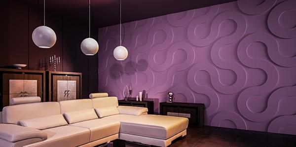 Объемные панели 3Д на стену