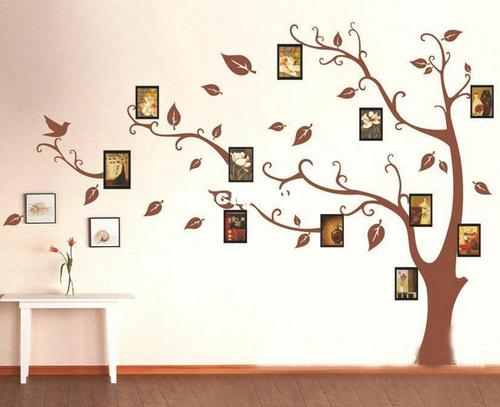 large tree template for wall -