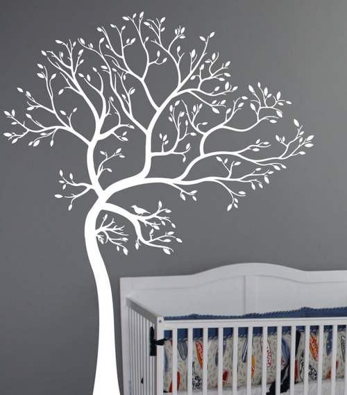 виниловые наклейки на стену дерево