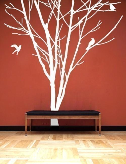 декоративное дерево на стену