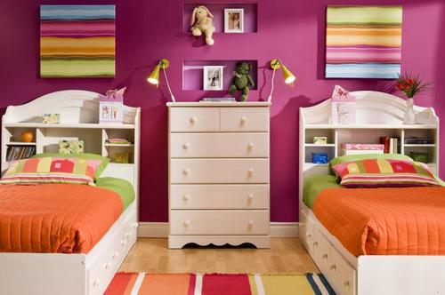 Дизайн детской комнаты для двойни фото