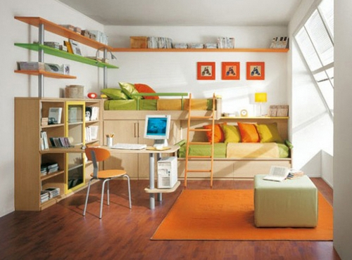 Комната для близнецов подростков фото