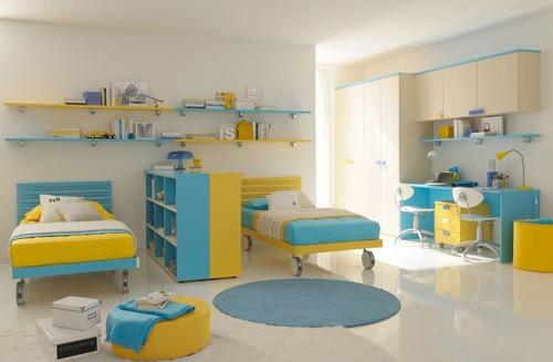 комната для двойняшек подростков