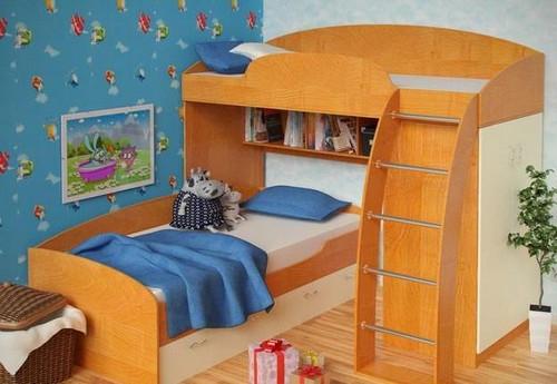 какие бывают двухъярусные кровати