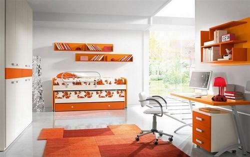 Детские комнаты с двухъярусной кроватью выдвижной фото