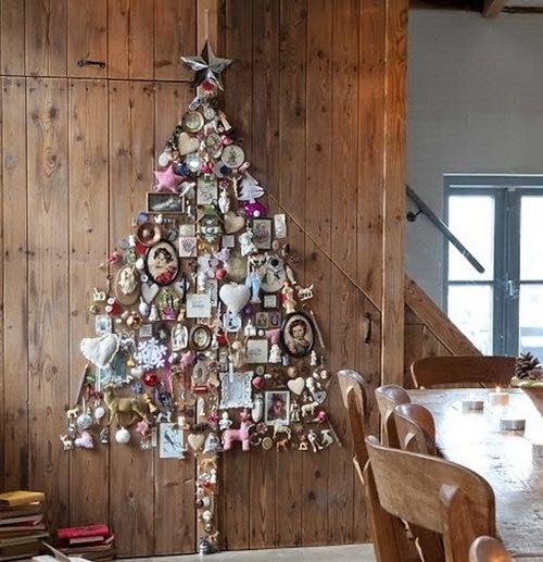 Настенная елка желаний фото