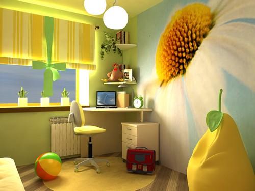 фотообои 3Д в детскую комнату