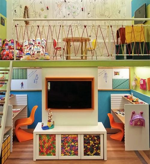Обустройство игровой зоны в детской комнате