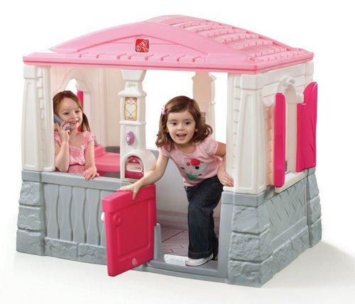 Пластиковый домик для игр