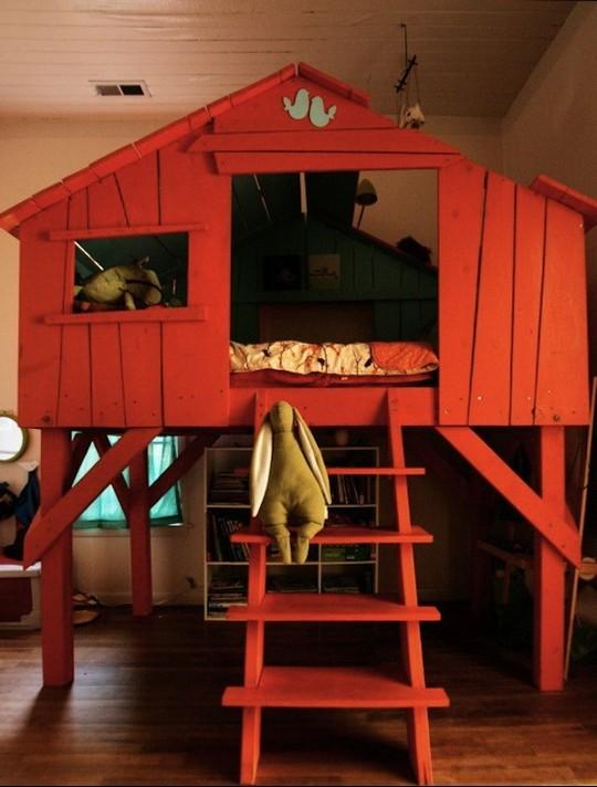 Игровой домик для детей фото