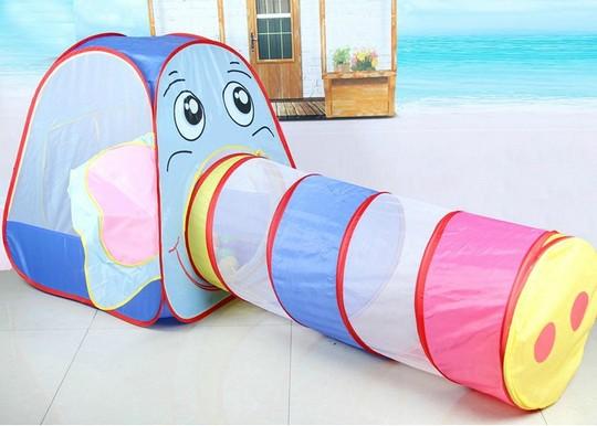 Игровой домик с туннелем