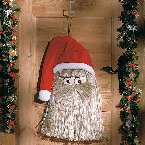 Дед Мороз на входную дверь