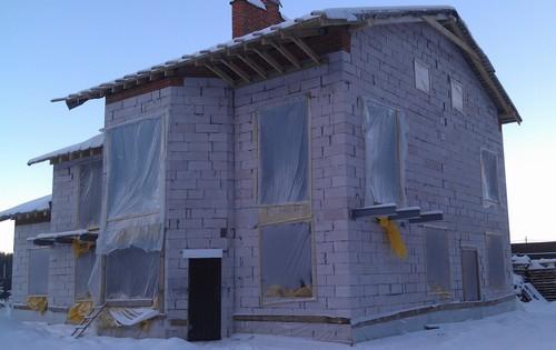 консервация строительства на зиму