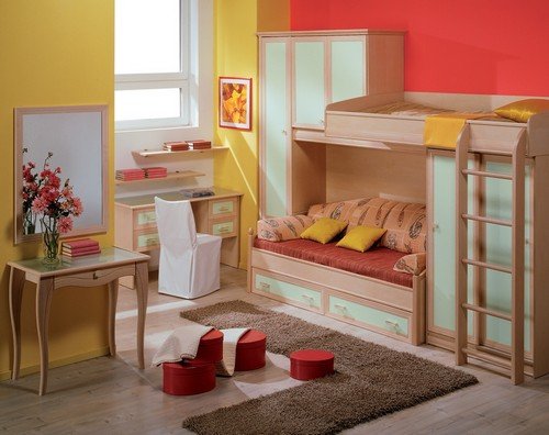 мебель для детской маленькой комнаты