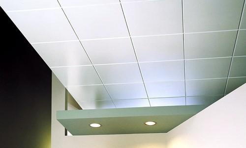 Виды кассетных потолков фото