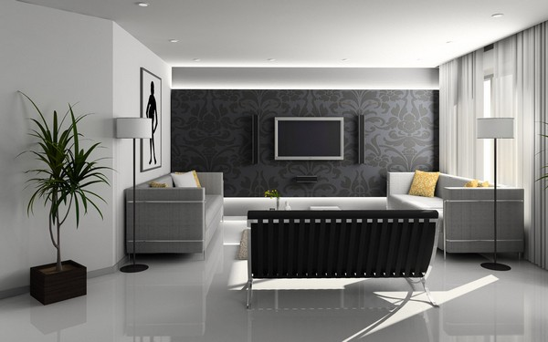 Мебель в гостиную хай-тек фото