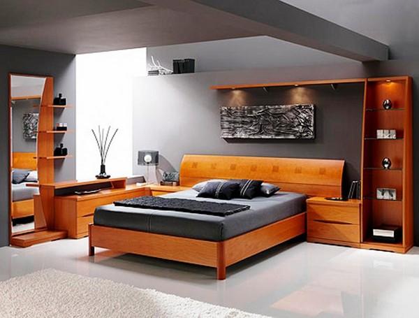 Спальный гарнитур в стиле хай-тек