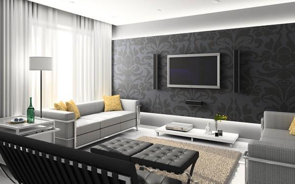 Мебель для гостиной хай-тек фото
