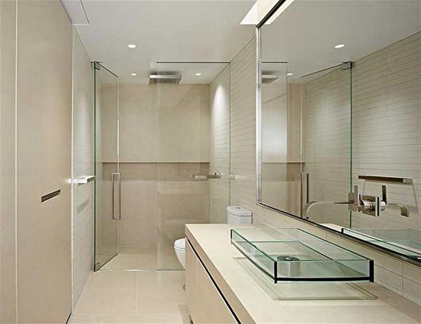 Мебель для ванной хай-тек фото