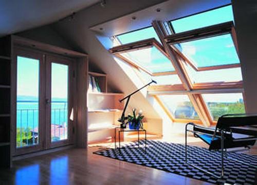 Мансардные окна с подогревом