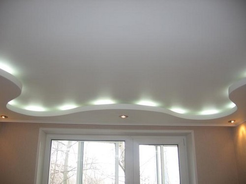 Потолки с подсветкой фото
