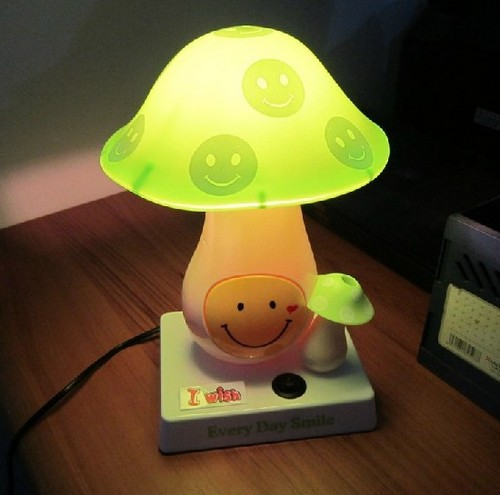 детская настольная лампа с ночником