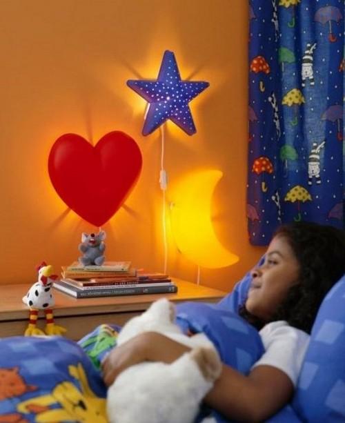 Детские светильники ночники на стену