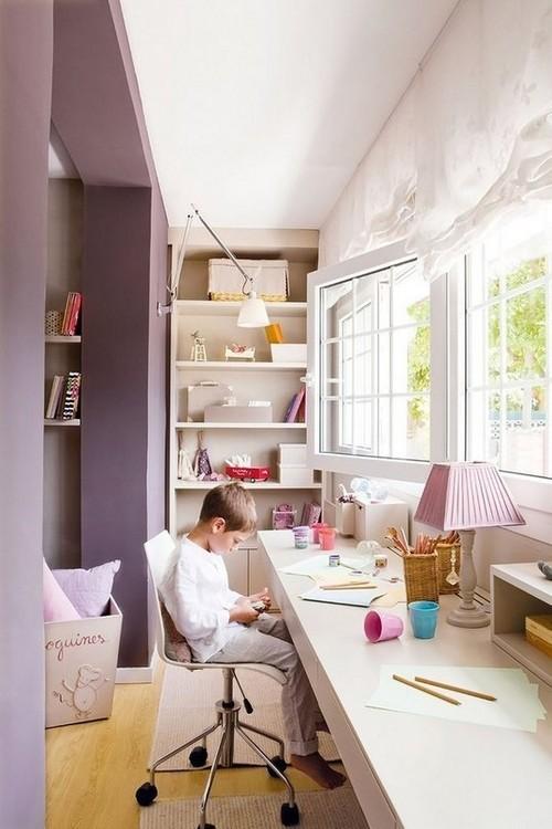 Детская комната объединенная с балконом