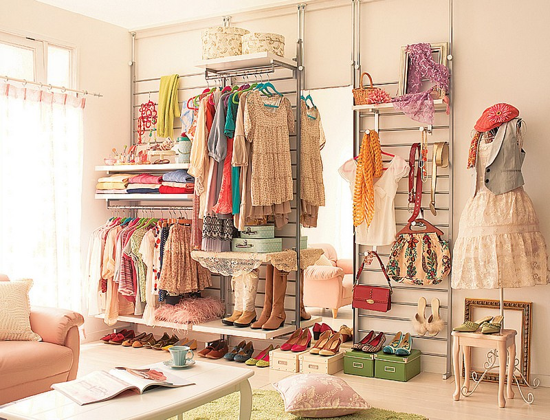 Комната для модницы