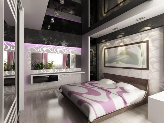 Оформление спальни молодоженов фото