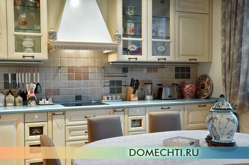 Дизайн-проект кухни в стиле прованс фото