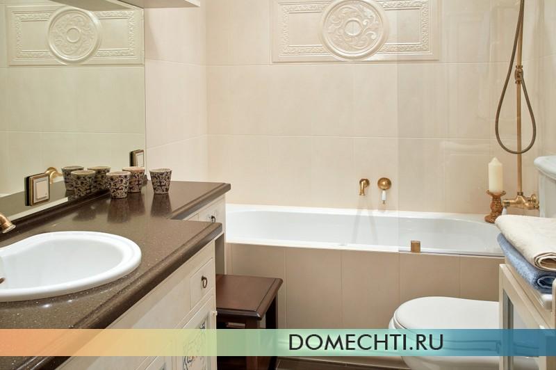 Стиль прованс в ванной комнате