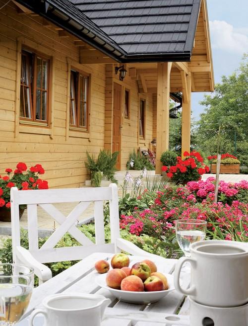 Мебель для обеденной зоны на даче
