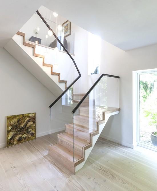 Идеи подсветки лестницы