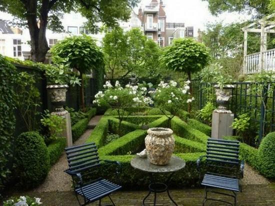 Лабиринты в дизайне участка загородного дома