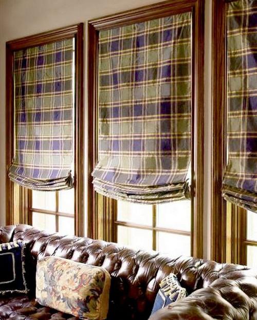 Дизайн штор для дачи
