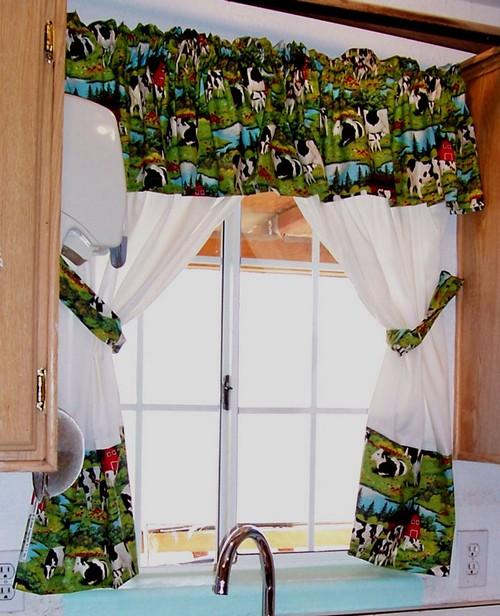 Какие выбрать шторы на дачу