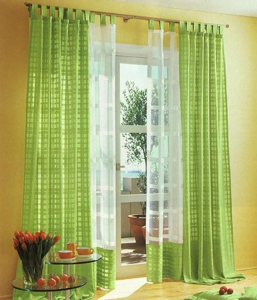 шторы для гостиной на петлях