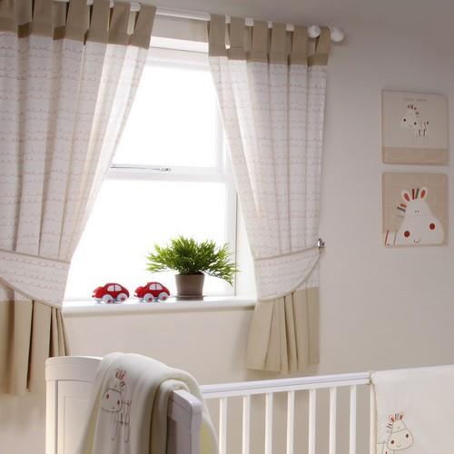 шторы на петлях в детскую