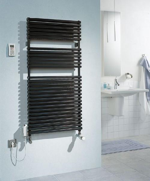 Электрическая сушилка-полотенцедержатель в ванную