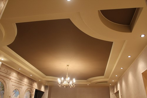 Уход за тканевыми натяжными потолками