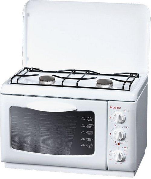 Плита для дачи настольная с духовкой
