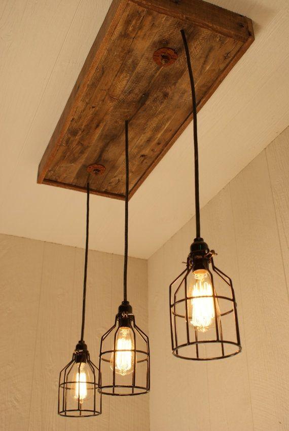 Люстры на деревянной основе фото