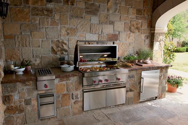 Гриль для летней кухни