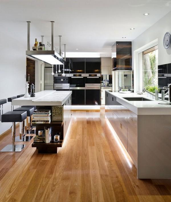 Полы ламинат для кухни