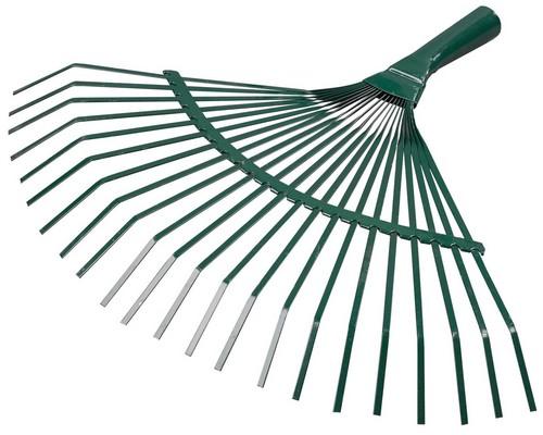 Грабли-веер садовые