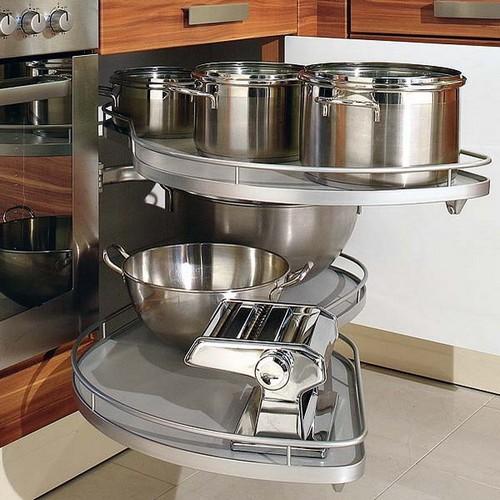 Угловая карусель для кухни