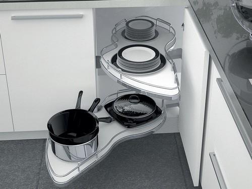 Выдвижная карусель для кухни